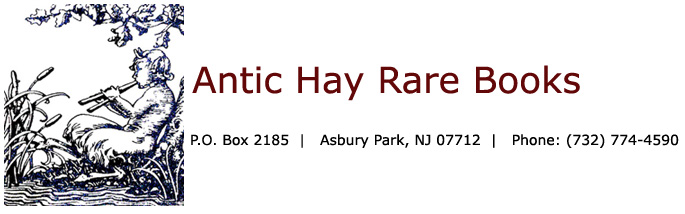 Antic Hay Rare Books [home link]